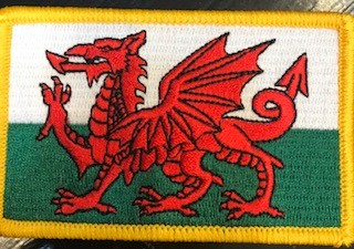 Patch: Wales Flag