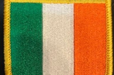 Patch: Ireland Flag Shield