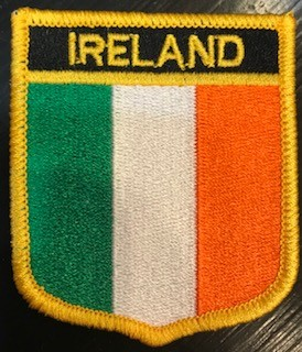 Patch: Ireland Flag Shield