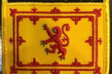 Patch: Scotland Lion Flag Shield