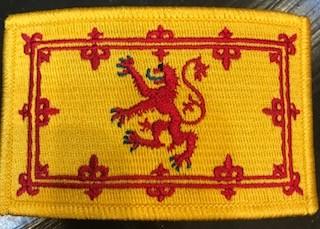Patch: Scotland Lion Flag