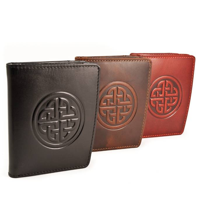 Wallet: Caitlin Ladies Knot Black