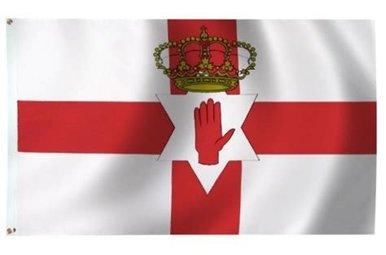 Flag: Northern Ireland, Poly 3x5