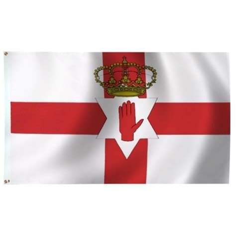 Flag: Northern Ireland, Poly 3x5