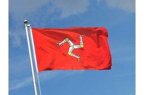Flag: Isle of Man, Poly 3x5