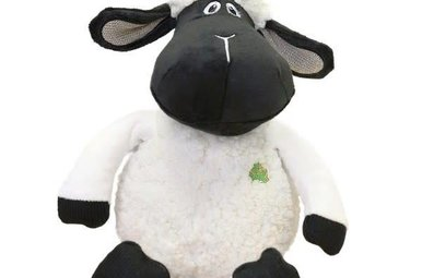 Toy: Black Faced Daisy Sheep, 10""