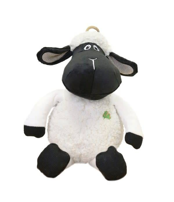 "Toy: Black Faced Daisy Sheep, 10"""