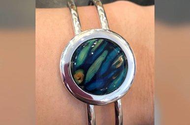Bracelet: Heathergems Bangle