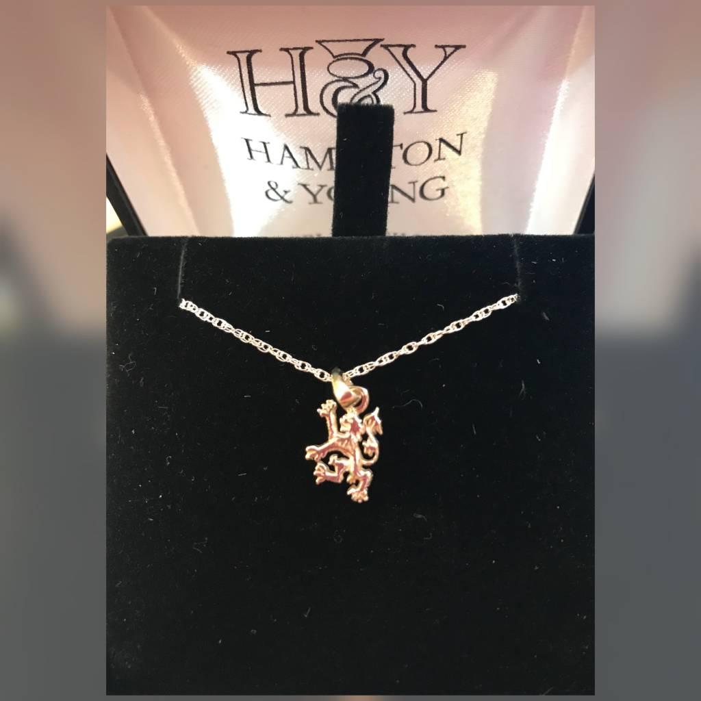 H & Y Pendant: Scottish Lion