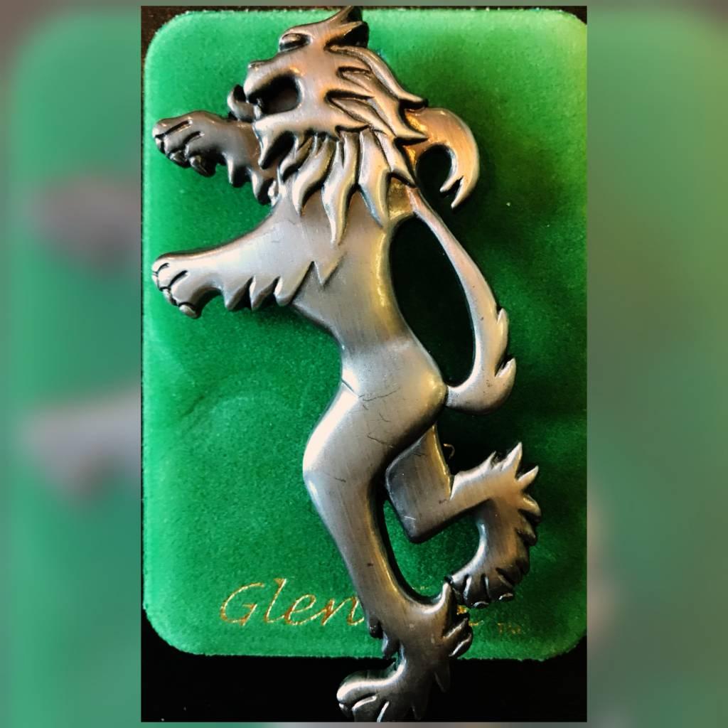 Kilt Pin: Lion Rampant