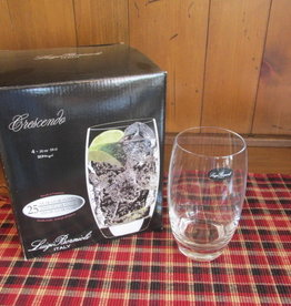 BORMIO 20 0Z GLASSWARE  SET OF 4