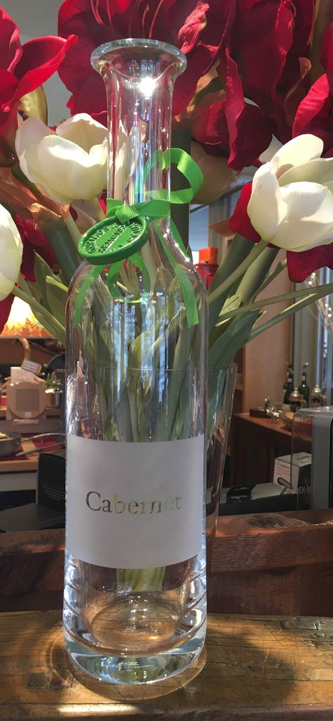 """Cabernet"" Wine Carafe"