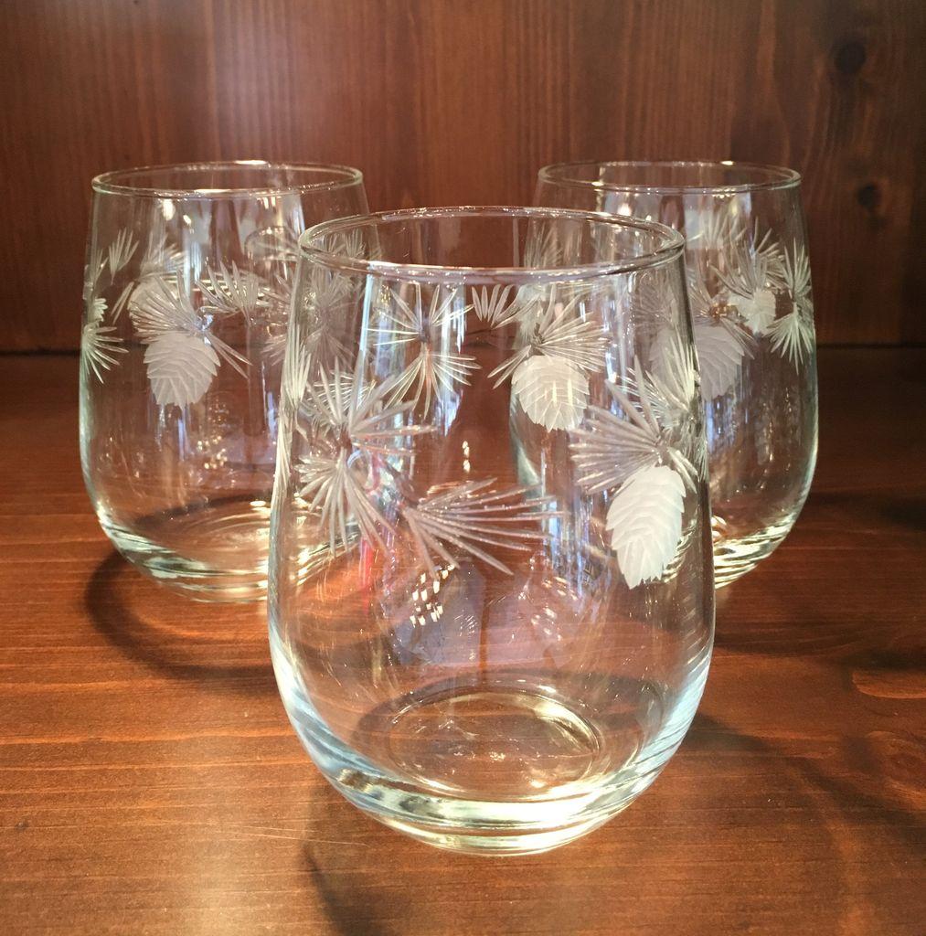 ROLF Pine Stemless Glass