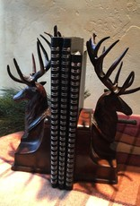 OKC STAG BOOKENDS