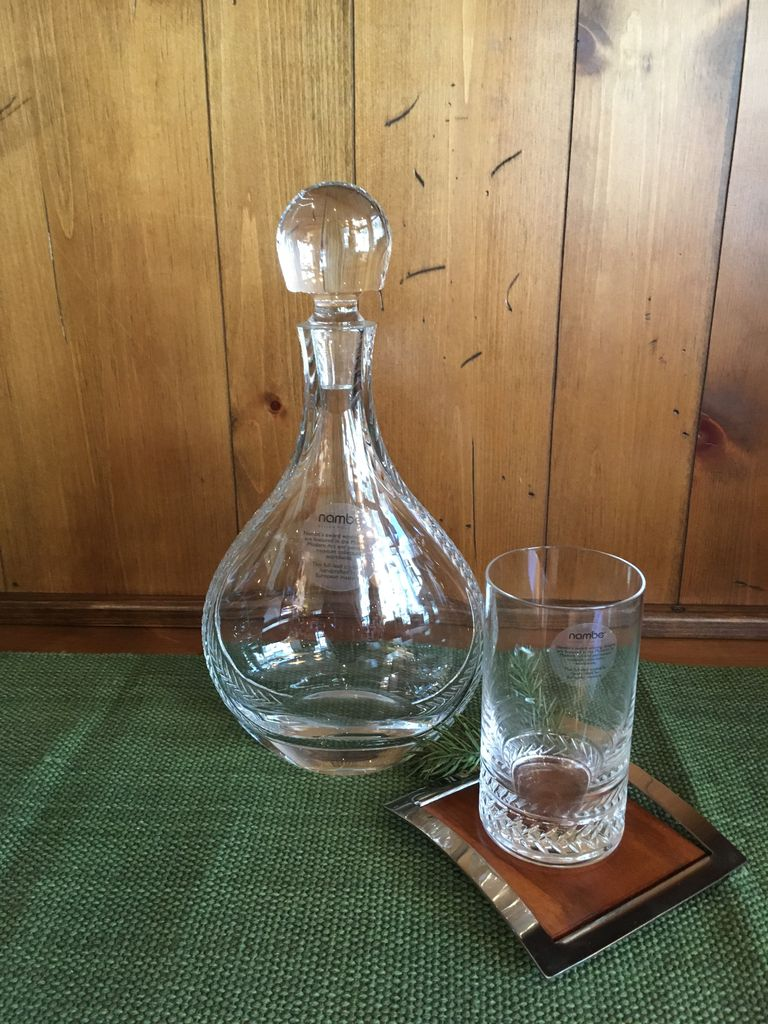 NAMBE Crystal Braid Decanter