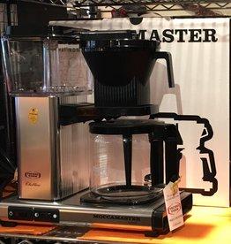MOCCA TECNIVORM BRUSHED 10 CUP COFFEE MAKER
