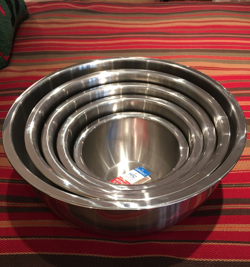 Mixing Bowl  Stainless