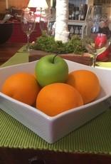 PILLVU French Porcelain Quartet Salad Bowl
