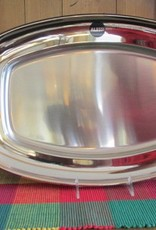 """ALE STAINLESS SERVING PLATTER 20"""""""