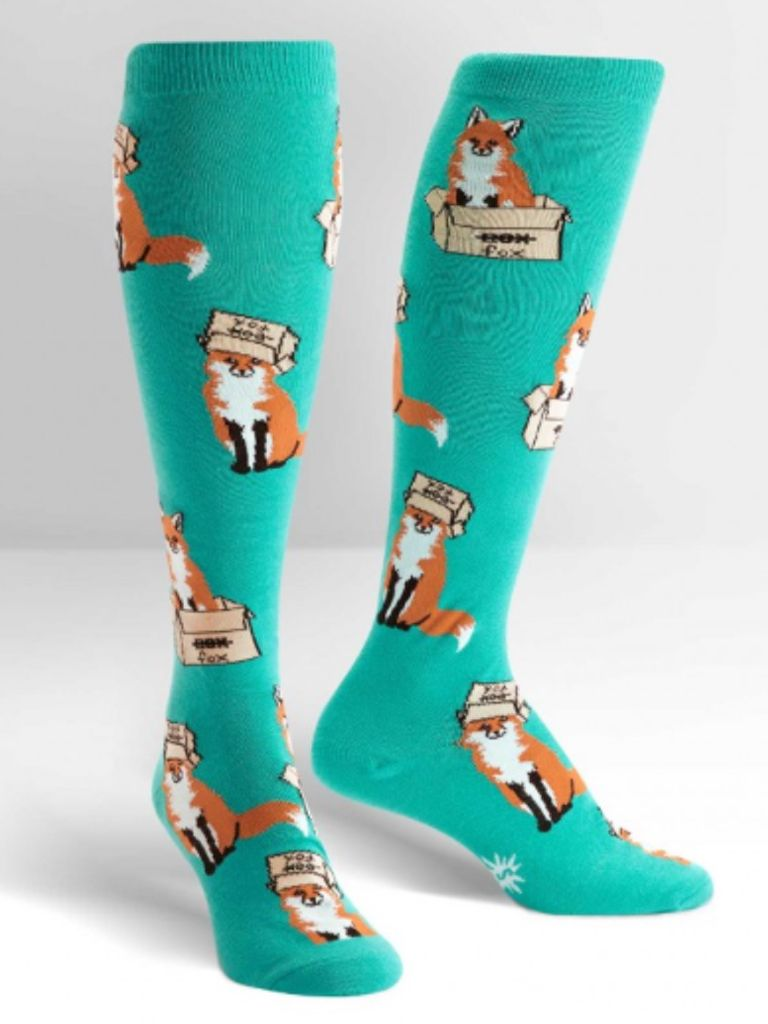 Sock it to Me Foxes in Boxes
