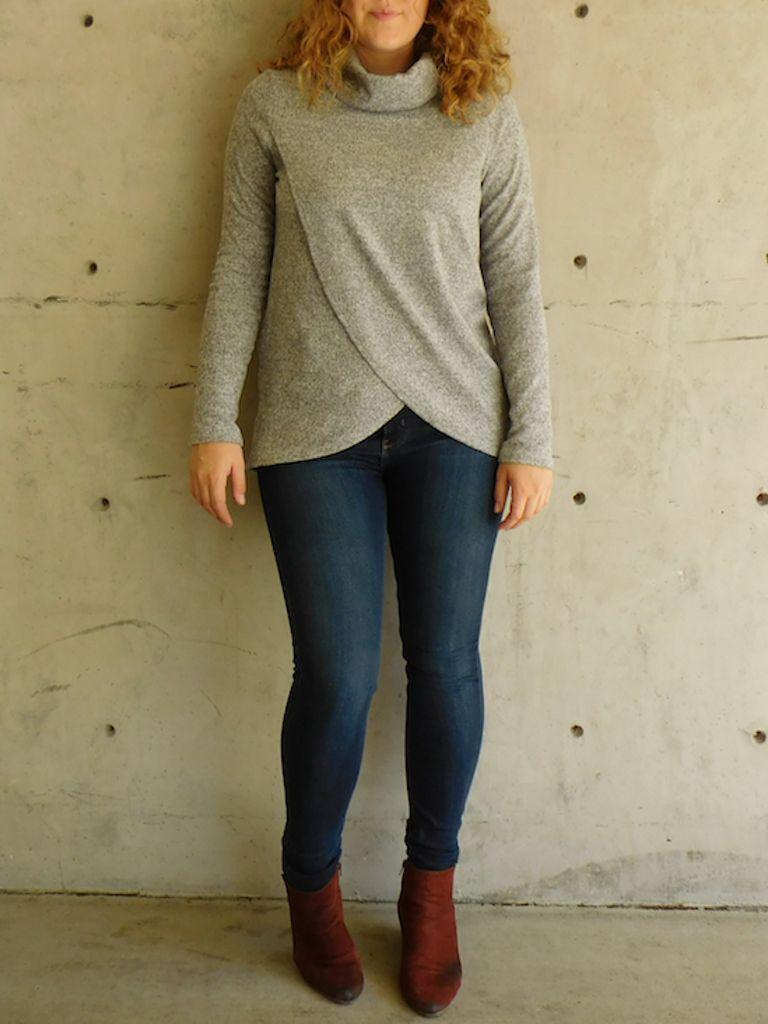 GCBLove Cedarwood Crossover Sweater