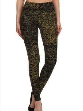 GCBLove Olive Tree Lace Leggings