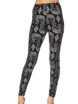 GCBLove Diamond Elephant Leggings