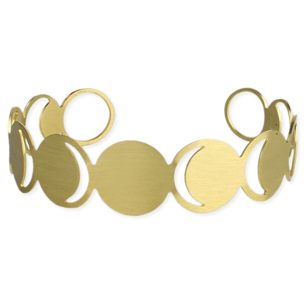 Zad Over The Moon Gold Bracelet