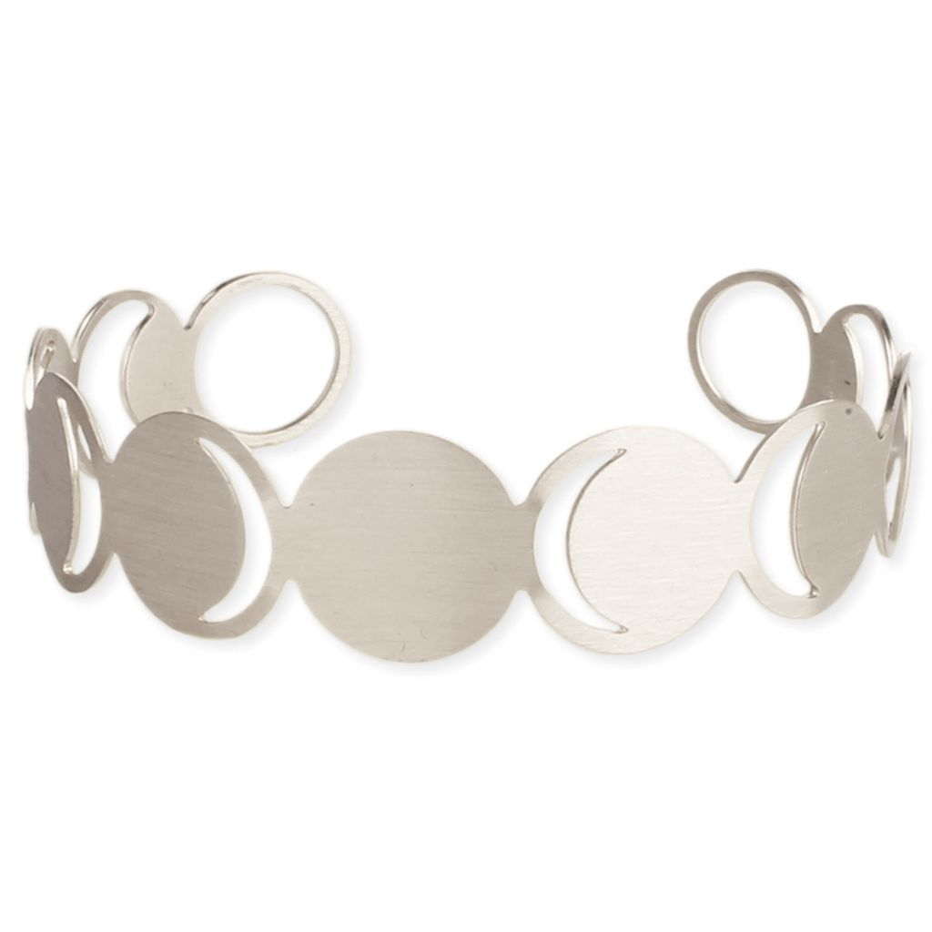 Zad Over The Moon Silver Bracelet