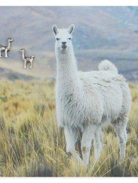 Zad Silver Llama Post Earring