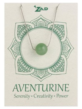 Gypsy Chic Aventurine Bead Necklace