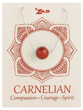 Gypsy Chic Carnelian Bead  Necklace