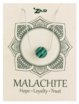 Gypsy Chic Malachite Bead Necklace