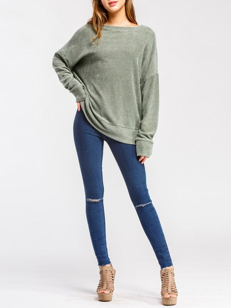GCBLove Chenille Lounge Sweater