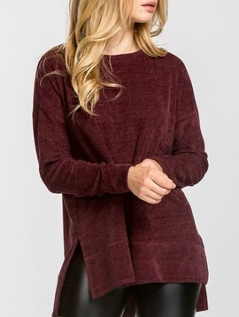 GCBLove Chenille High Low Sweater