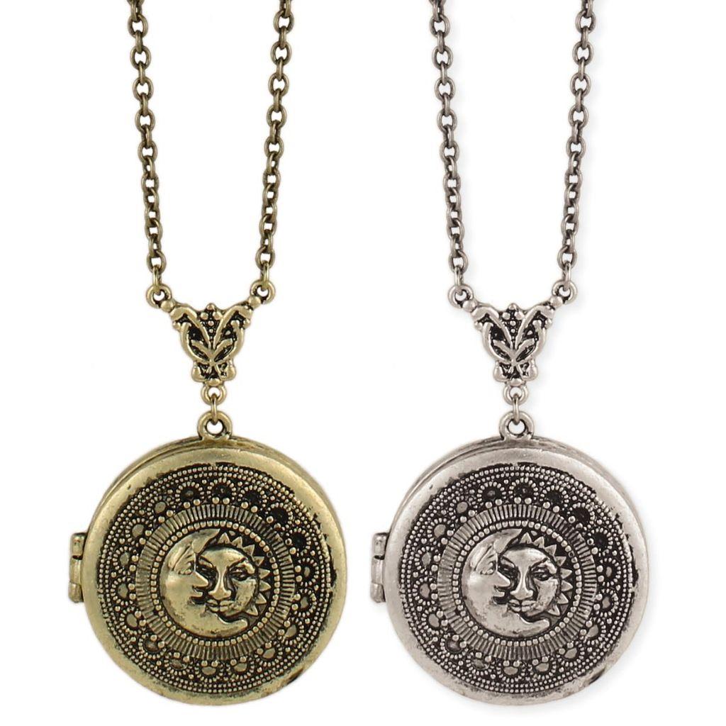 GCBLove Gold Sun & Moon Locket