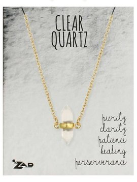 GCBLove Healing Clear Quart Necklace