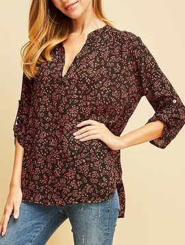 GCBLove Floral Fields Top