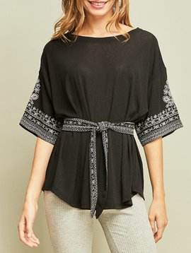 GCBLove Eden Embroidered Top