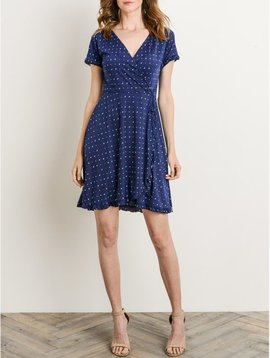 Gilli Confetti + Cobalt Dress