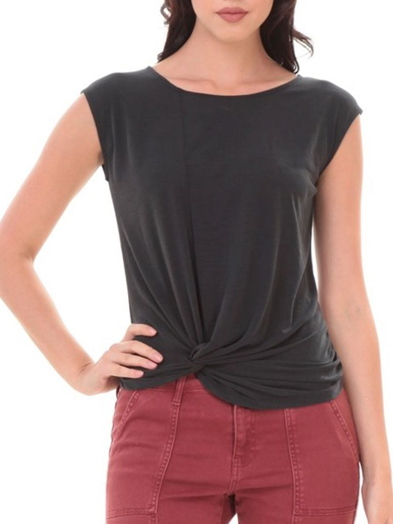 Pink Note Dakota Twist Top