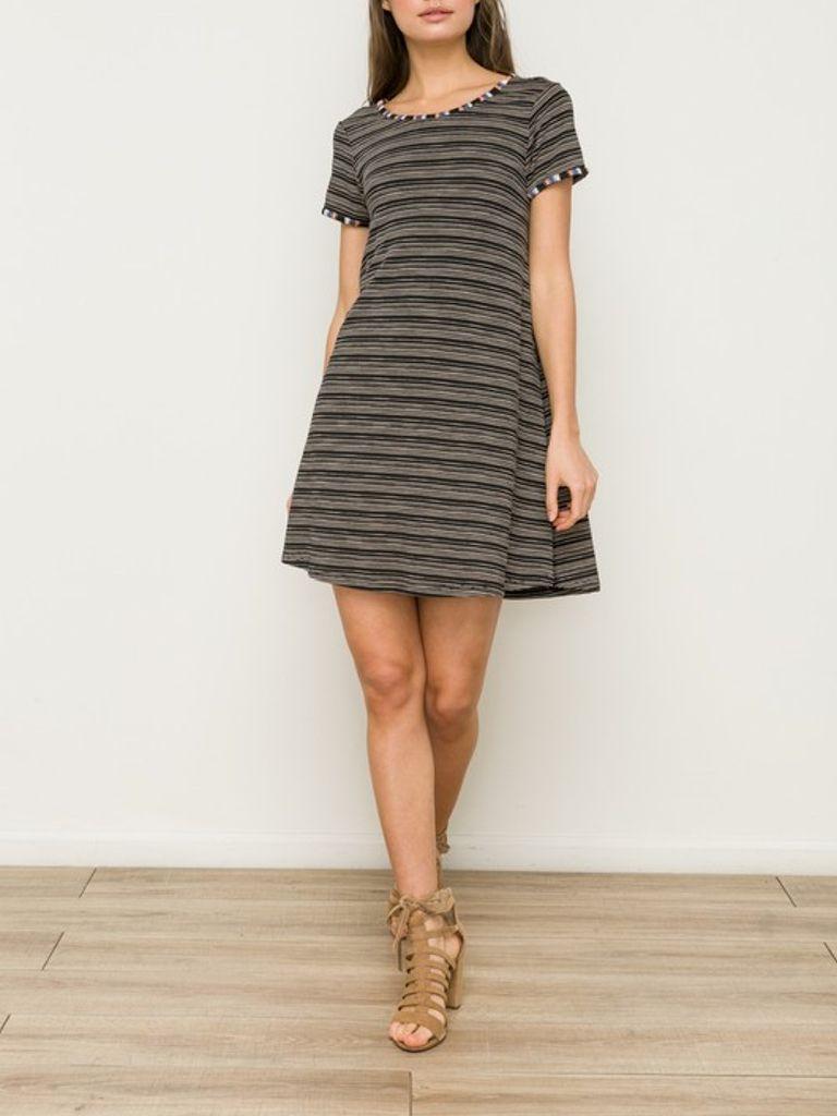 GCBLove Varsity Stripes Dress