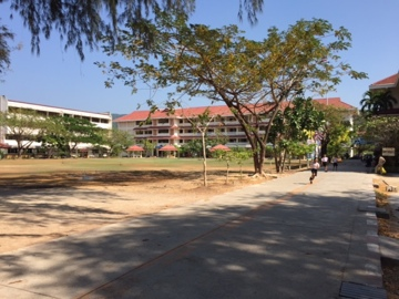 Thailand School grounds