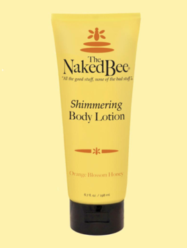 Naked Bee Orange Blossom Shimmering Hand Lotion Large