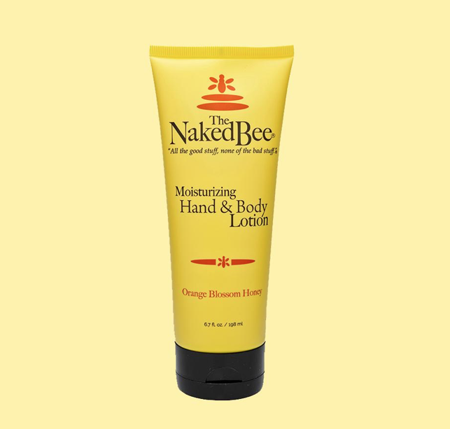 Naked Bee Orange Blossom Honey Hand Lotion Large