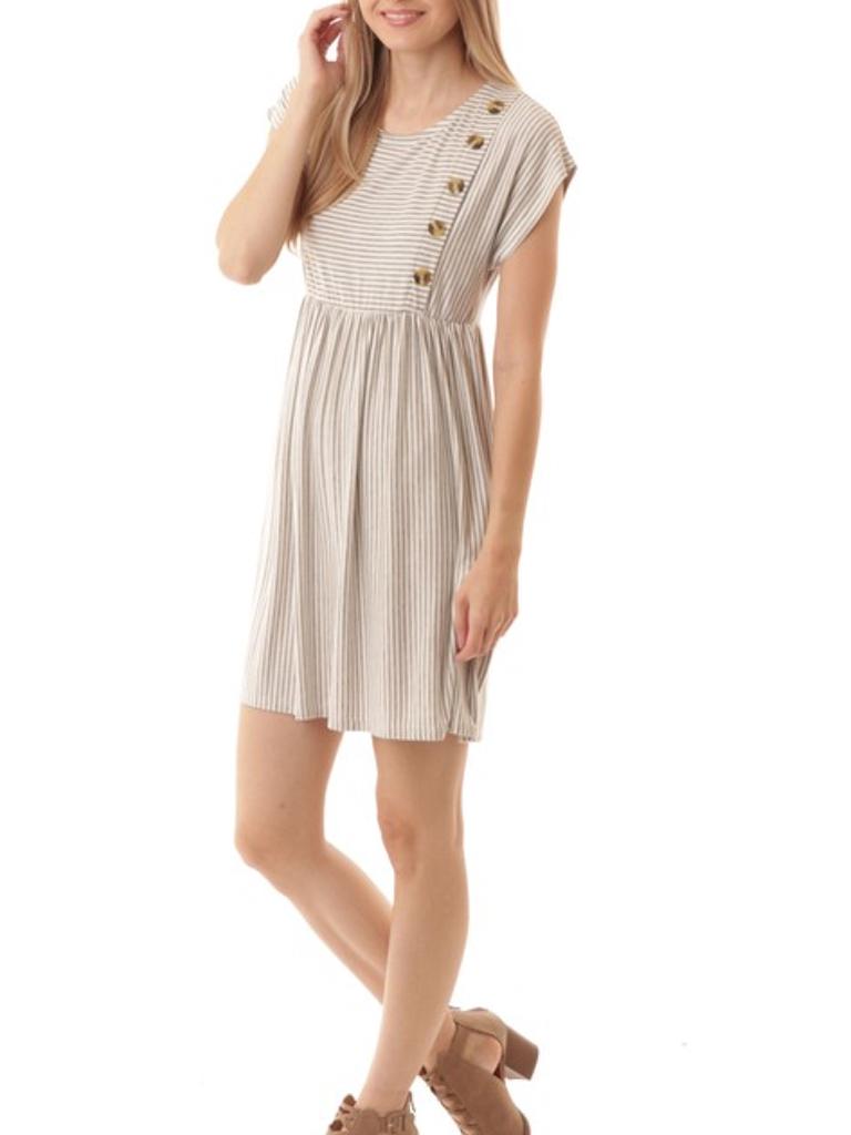 GCBLove Eloise Button Dress