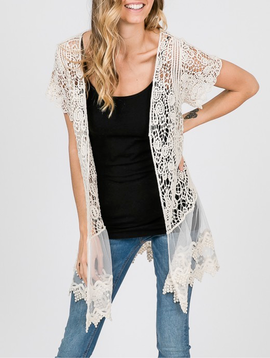 GCBLove Lovelace Crochet Cardigan