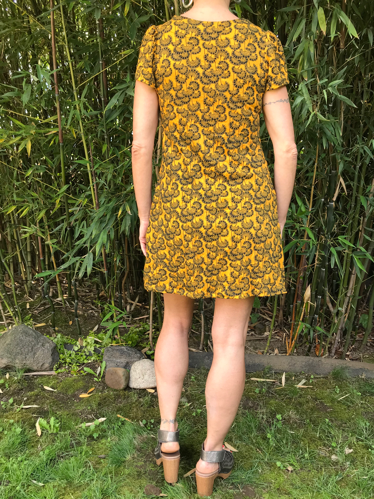 Zahara Princess Cap Sleeve Dress, Little Florets