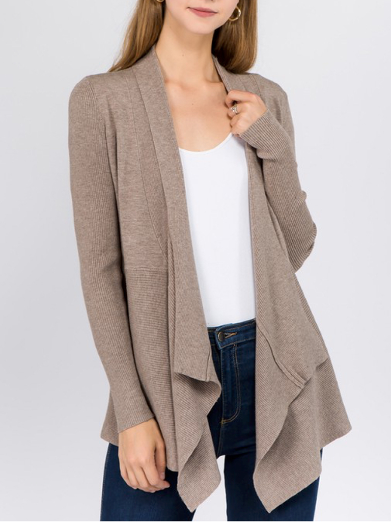 GCBLove Dreamers Waterfall Cardigan
