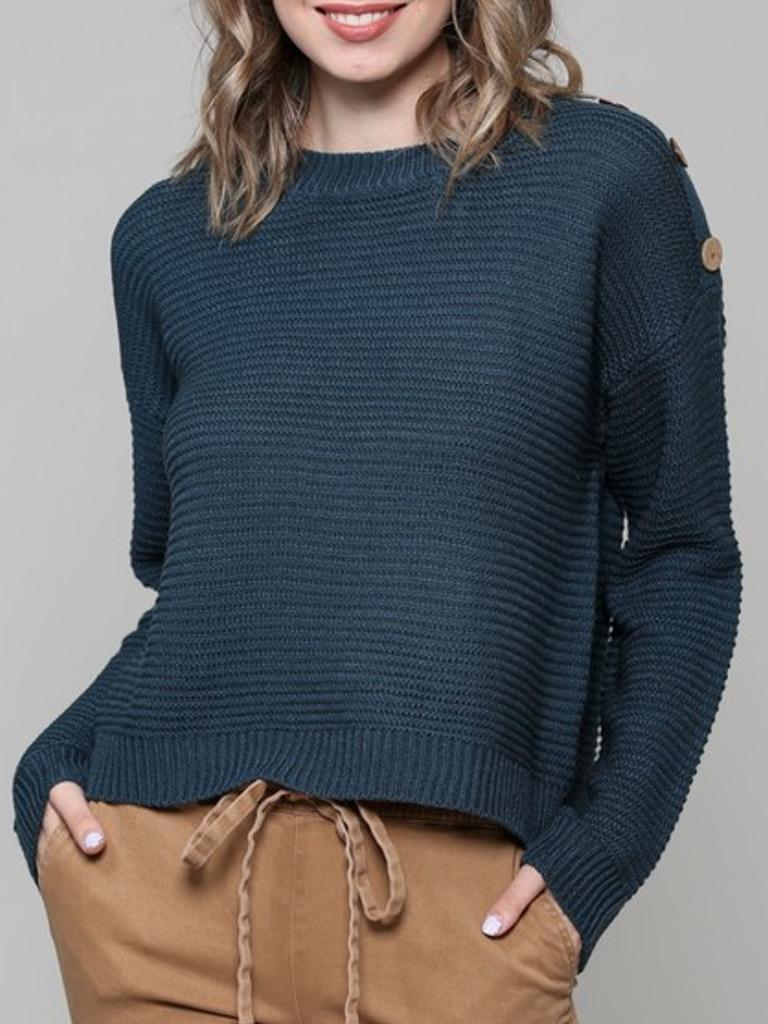 GCBLove BC Pullover Crew Sweater